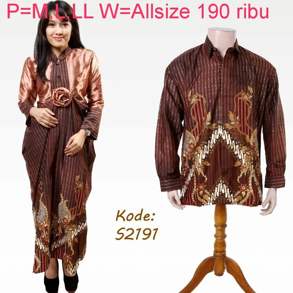 Baju Batik Seragam Keluarga Tanah Abang: Baju Batik Couple Keluarga