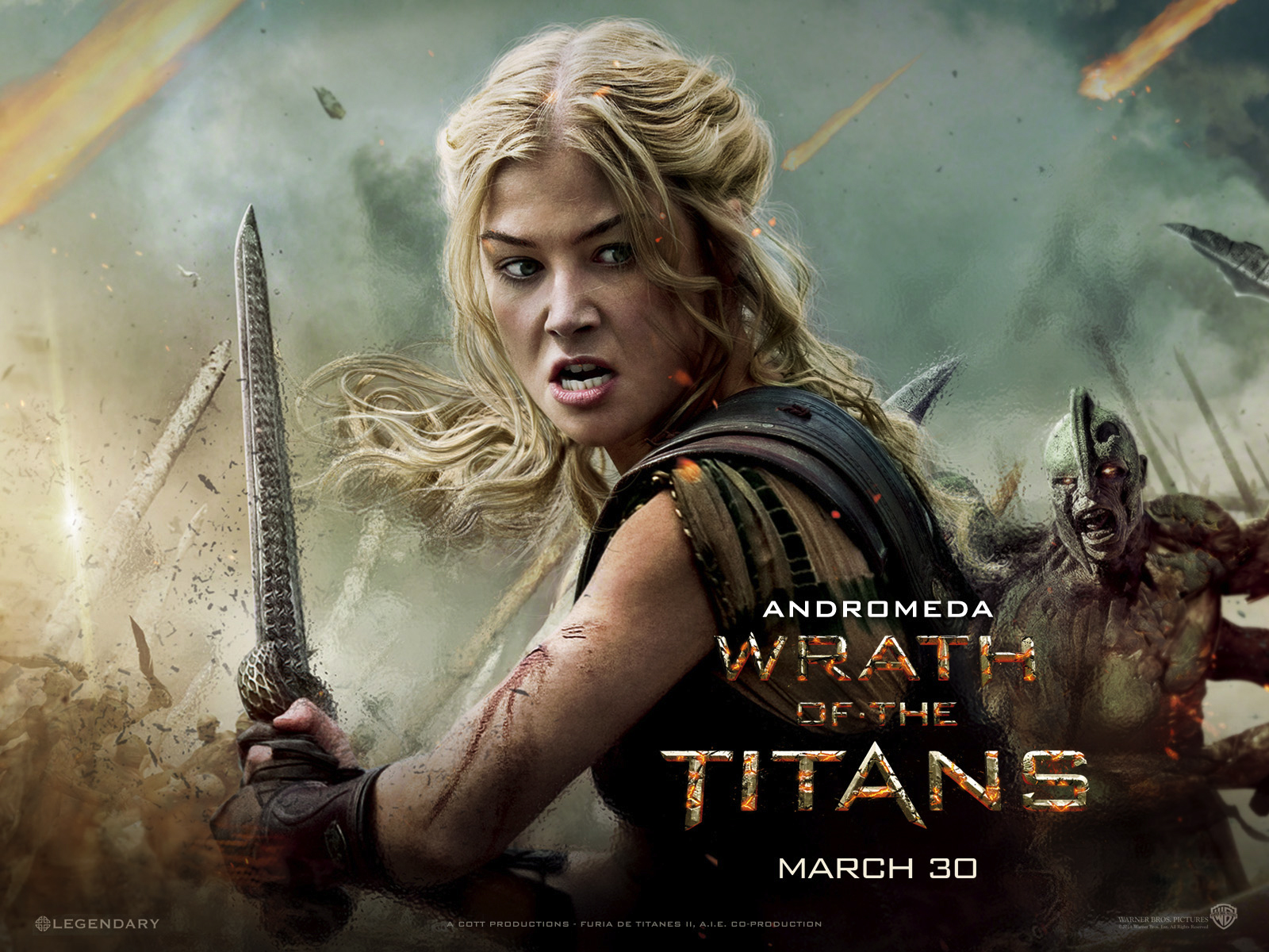 New Wrath Of The Titans Still And Character Wallpaper Of