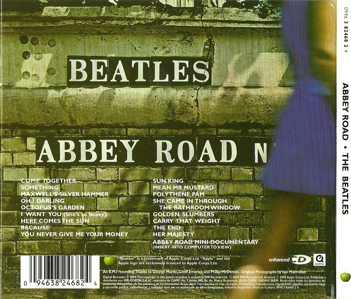 Beatles She Came In Through The Bathroom Window Lyrics: La Venganza De Saturno: Abbey Road (1969)