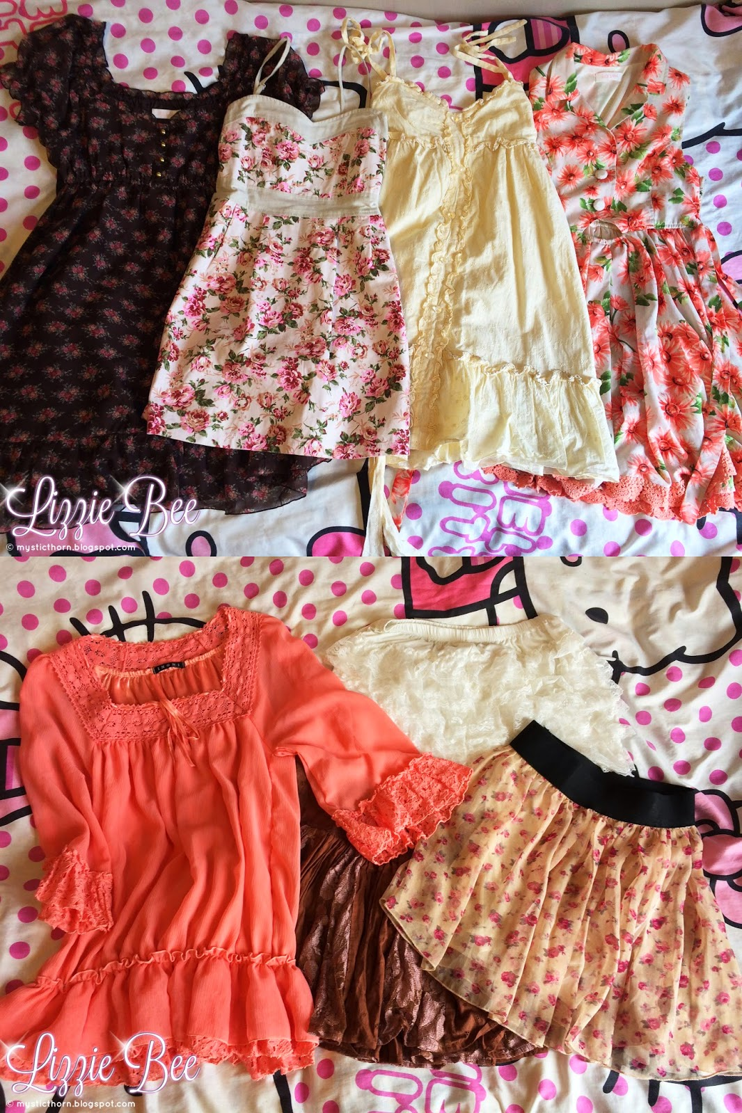 Himekaji gyaru wardrobe collection by hellolizziebee