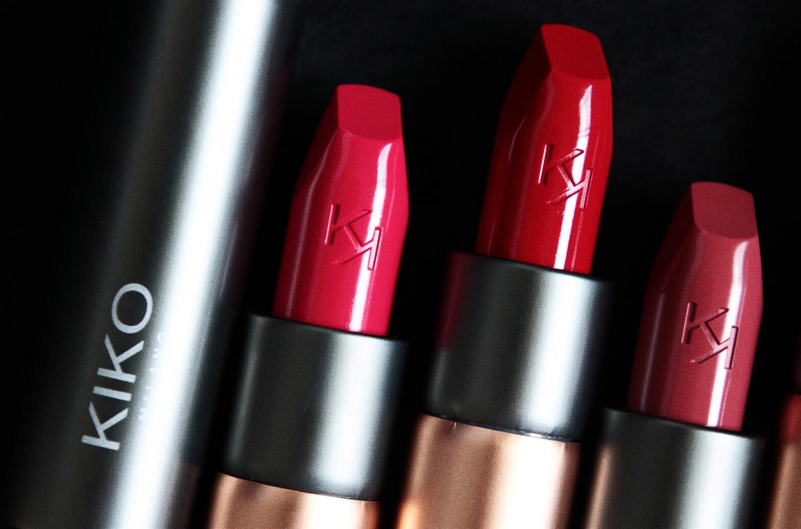 kiko velvet passion matte lipstick rouge à lèvres mat avis test swatch