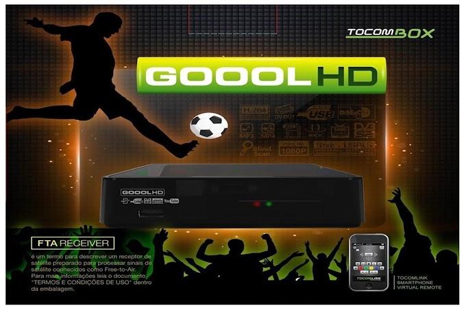 TOCOMBOX GOOOL HD NOVA ATUALIZAÇÃO V03.033 - 26/01/2017