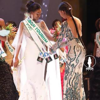 Winner of MBGN Anita Ukah