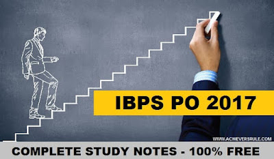 Complete Guide for IBPS PO Exams 2017
