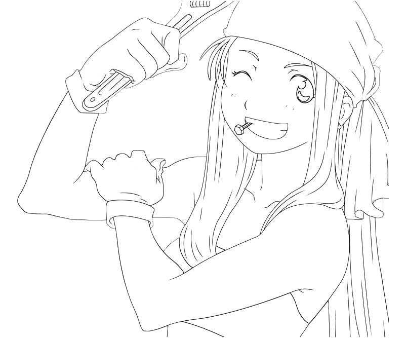 Edward Elric Coloring Pages Coloring Coloring Pages