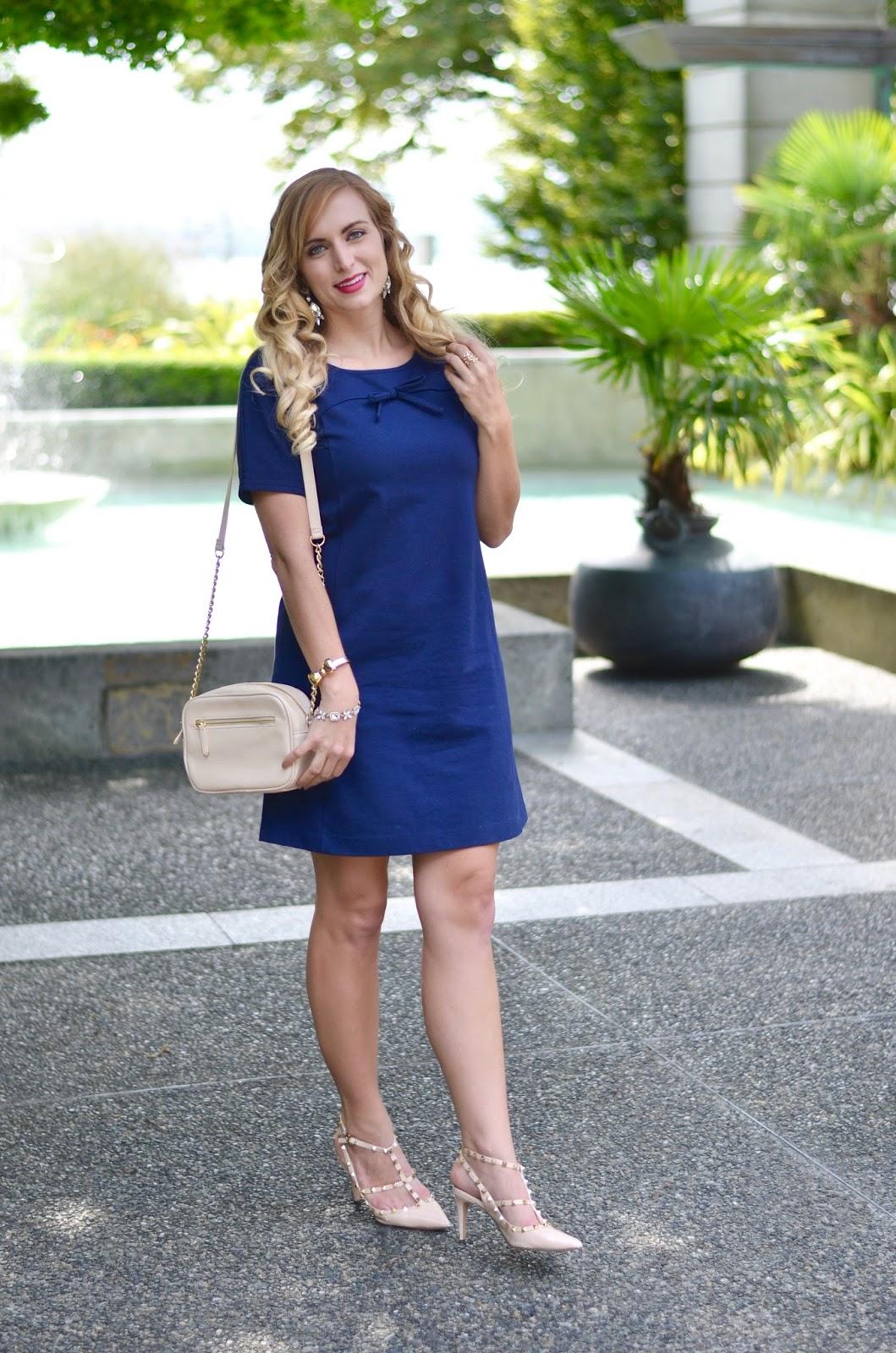 Navy Boden Dress