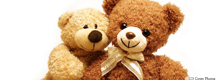 Cute Love Teddy Bears For Facebook Timeline