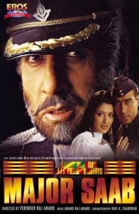 Major Saab 1998 Full Movie Hindi DVDRip 480p Download