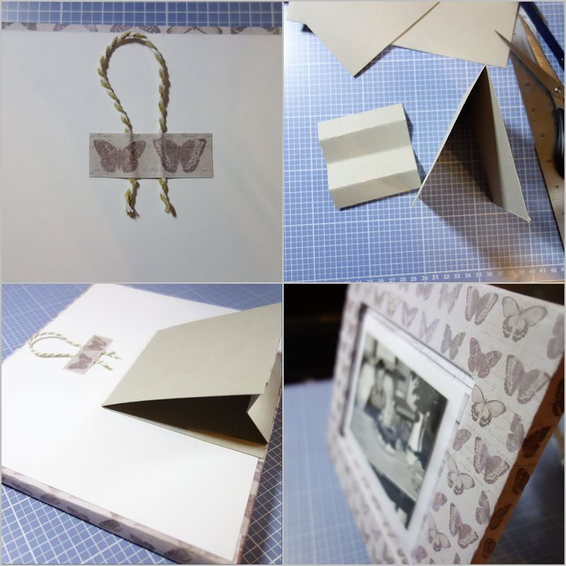 DIY Challenge - Bilderrahmen aus Pappe basteln {Foto kreativ in ...