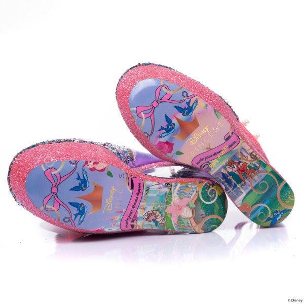 soles of disney princesses irregular choice shoes