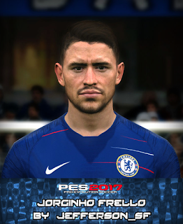 PES 2017 Faces Jorginho by FaceEditor Jefferson_SF