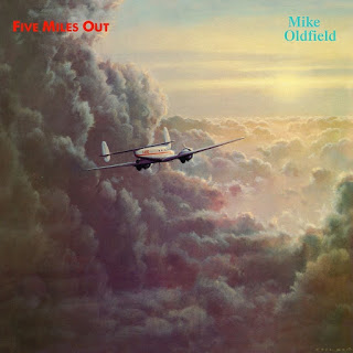 Mike Oldfield - Five Miles Out okładka singla