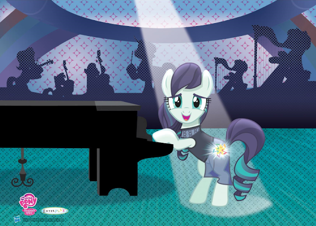My Little Pony Coloratura 3D Poster at Ponycon NYC
