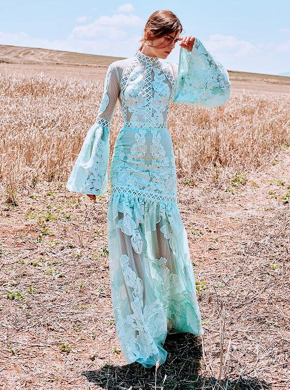 lace dress bridal