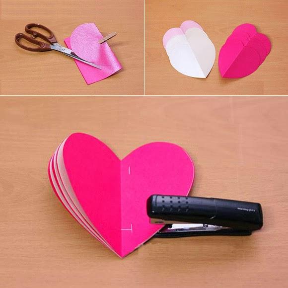 Como hacer tarjeta etiqueta corazon para regalos enrhedando - Que hacer para un cumpleanos ...
