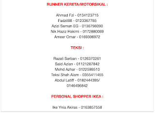 senarai nama runner shah alam