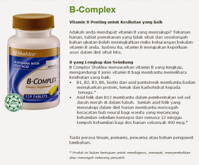 Image result for b-complex shaklee