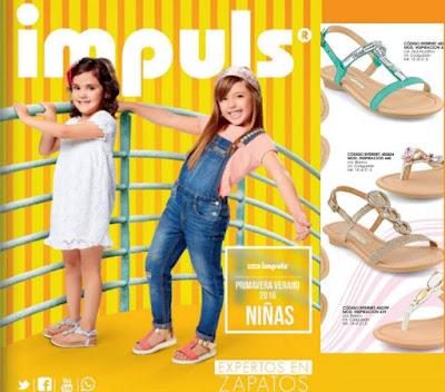 zapatos de niñas impuls PV 2016