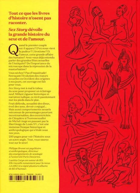 Sex Story de Philippe Brenot et Laetitia Coryn verso