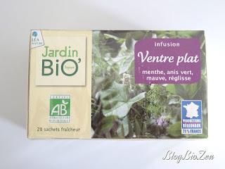 Infusion ventre plat - Jardin Bio