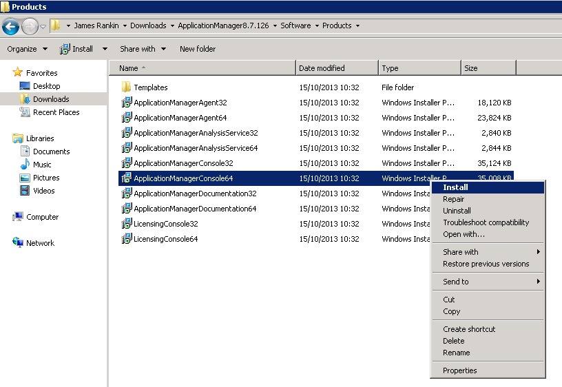 AppSense Application Manager 8 FR 7 allows deployment of