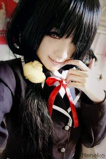 Tokisaki Kurumi Date A Live Cosplayer Neneko