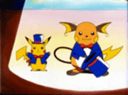 Pikachu y Raichu