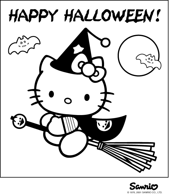 best hello kitty coloring pages - photo#15