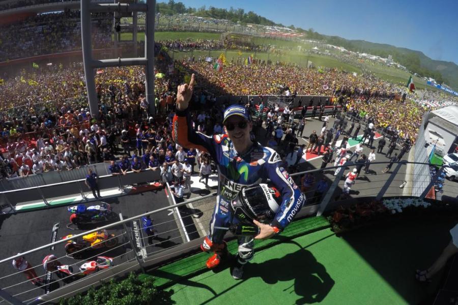 MotoGP 2016 Mugello Italia Lorenzo Podium