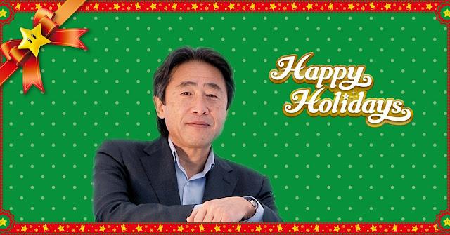 Satoru Shibata nos felicita las navidades 1