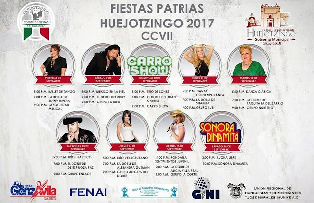 fiestas patrias huejotzingo 2017