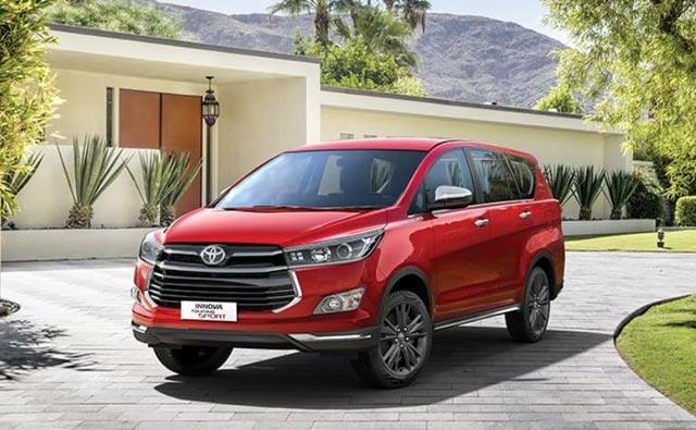 Urusan mobil keluarga, Toyota boleh dibilang cukup piawai mencuri perhatian. Kini, pabrikan asal Jepang ini resmi meluncurkan varian barunya Inova Crysta di India dengan kapasitas 8 penumpang.