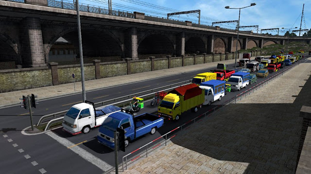 Traffic Modus Indonesia V3 Euro Truck Simulator 2