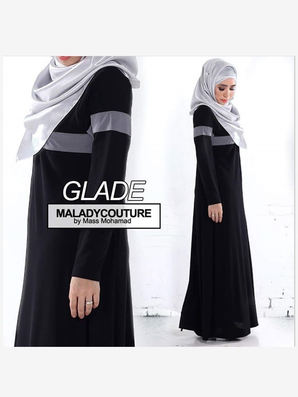 JUBAH DRESS GLADE PLUSSIZE - SOLD OUT