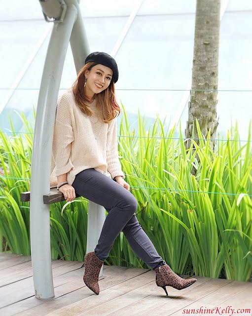 Style, OOTD, Autumn Vibes, Bata B-Flex Boots, Bata B-Flex, Women Tobacco Heels