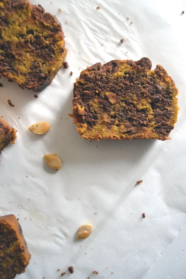 cake marbre chocolat potiron blog spoonencore