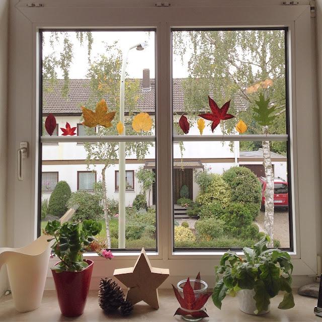Plotter-Freebie Herbstblätter