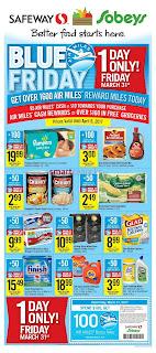 Blue Friday Safeway Flyer March 31 – April 6