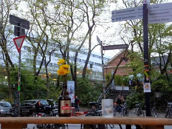 Hambourg Hamburg Schanzenviertel Oma's Apotheke restaurant