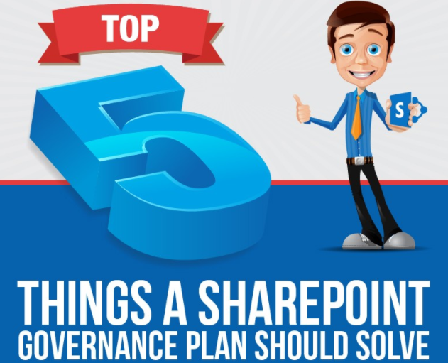 Top 5 Things A Sharepoint Government Plan Should Solve [Infographic]