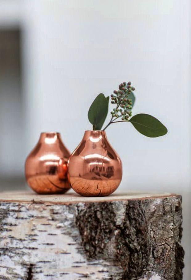 vasos cobre