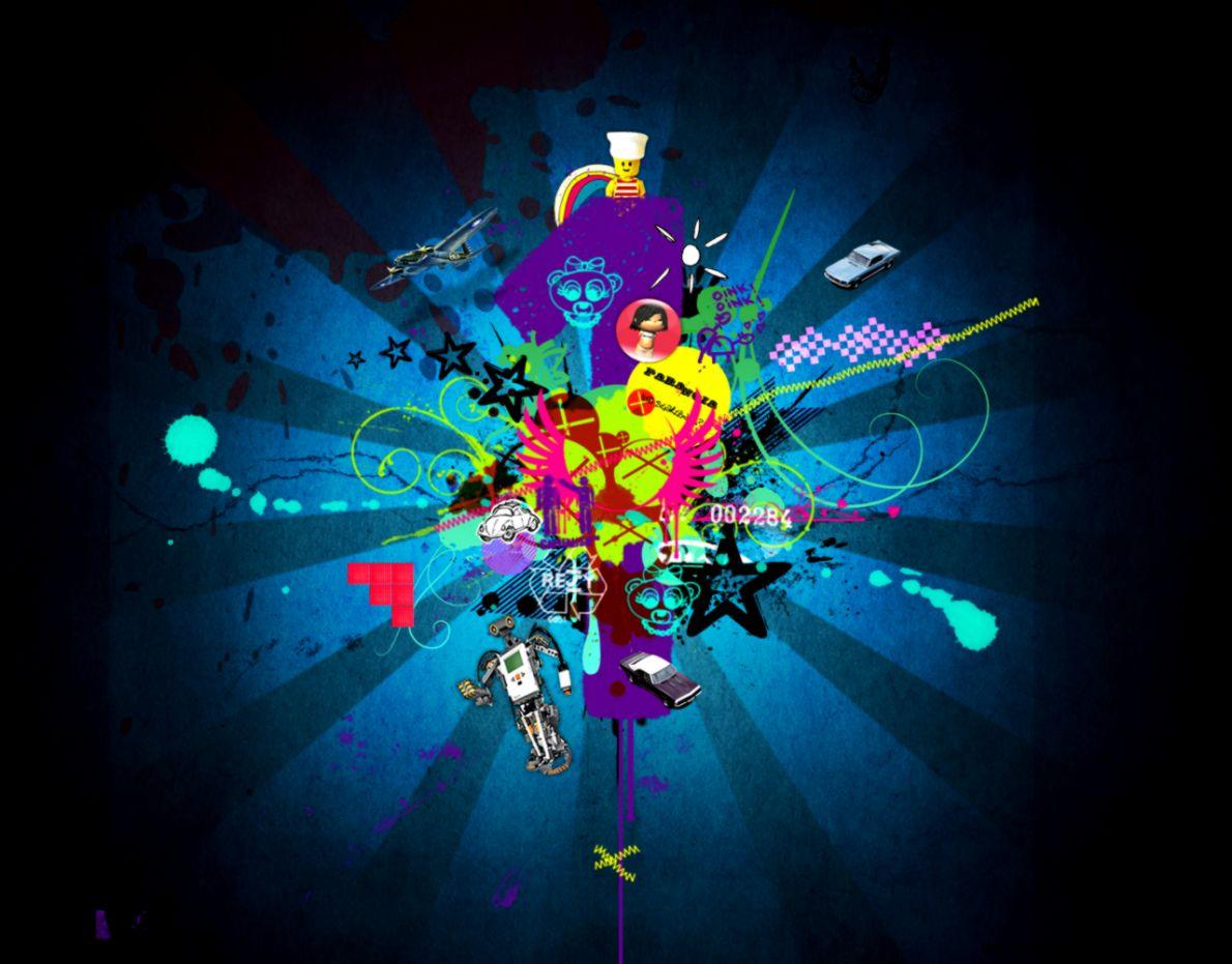 Music Graphic Design Cool Wallpaper Desktop   Wallpaper ...