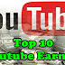 Top 10 Youtube Earners | Worlds Top 10 Youtubers 2017