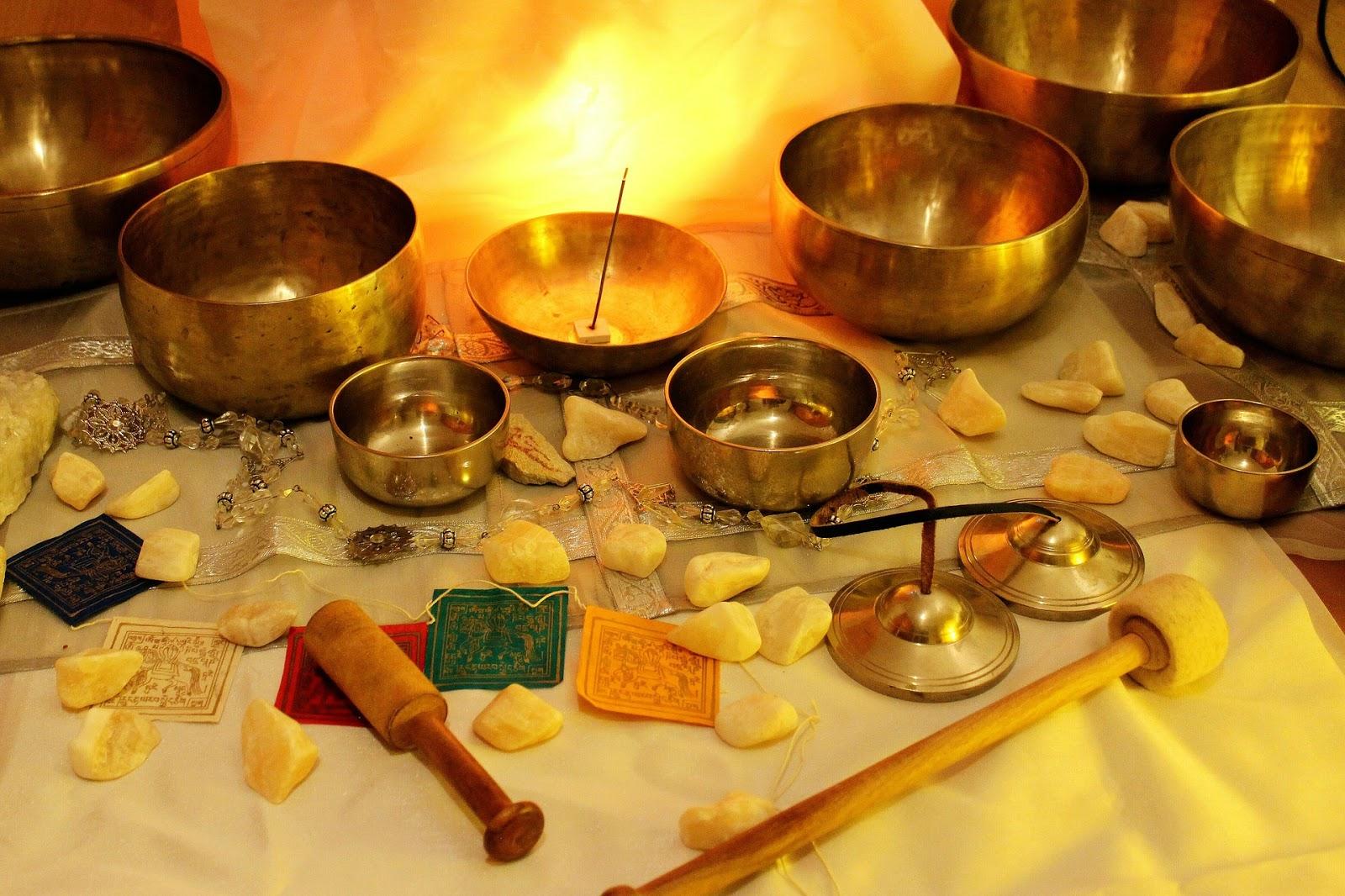 misy tybetańskie, leczenie dźwiękiem
