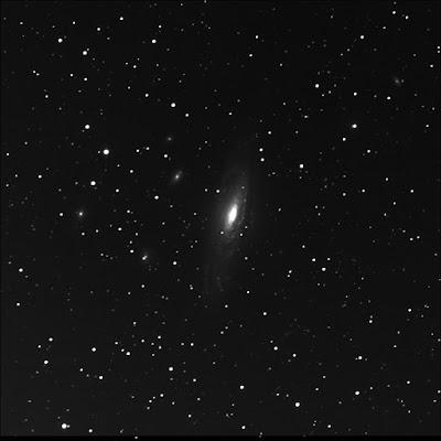 RASC Finest galaxy NGC 7331 luminance