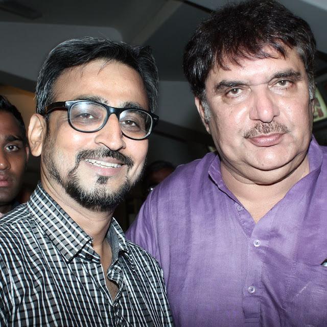 Camaal Mustafa Sikander with Bollywood Actor Raza Murad