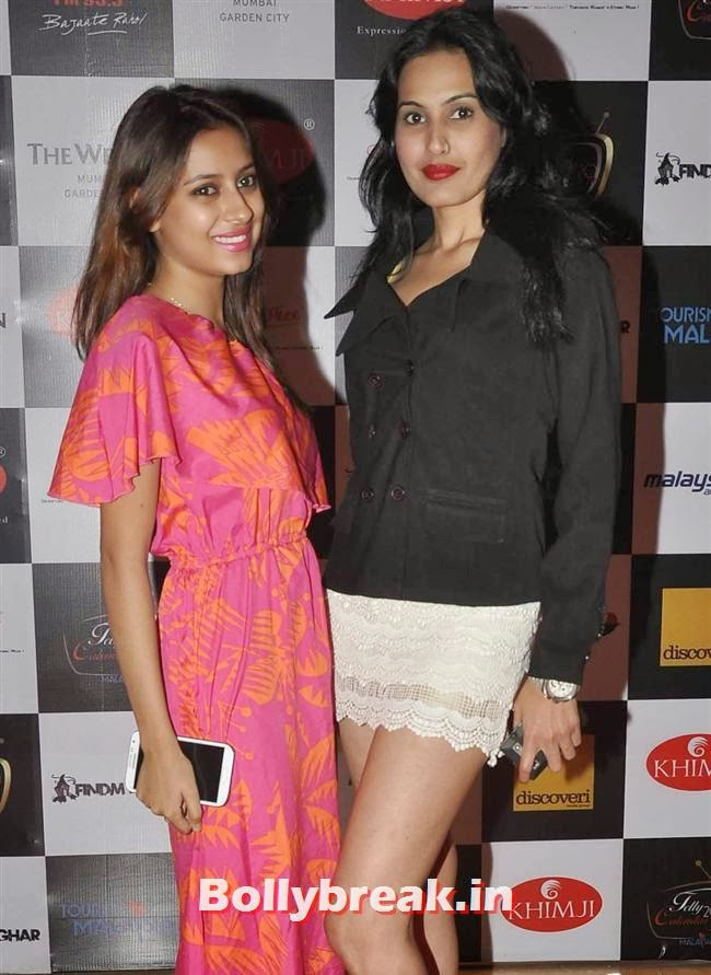 Pratyusha Banerjee and Kamya Punjabi, Tv babes at Telly Calendar 2014 Launch