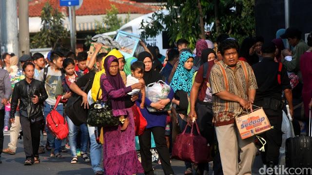Survei: Sebagian Besar Pemudik Memilih Pulang Kampung Tanggal 29 Juni