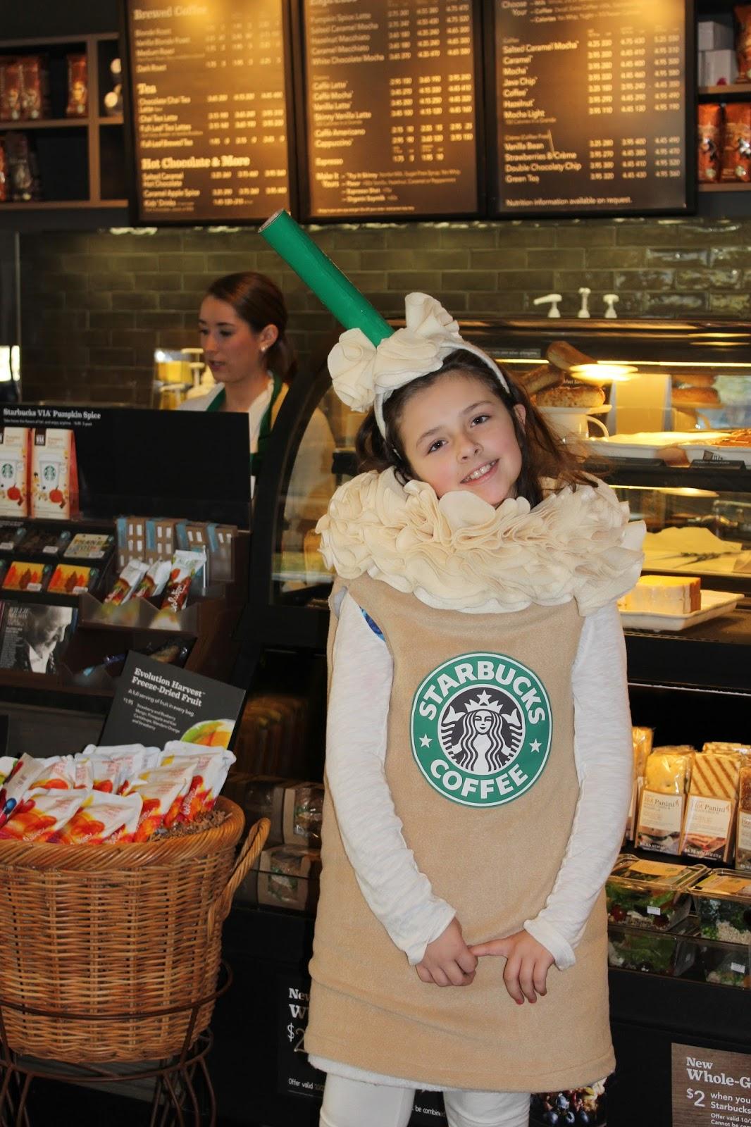 Ever Blooming Originals: Starbucks Costume Halloween
