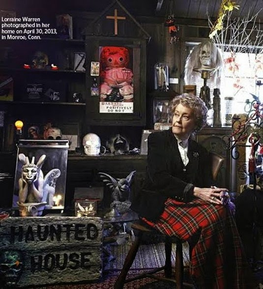 Lorraine Warren at Occult Museum